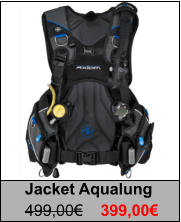 Jacket Aqualung 499,00€	399,00€