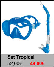 Set Tropical 52,00€	49,00€